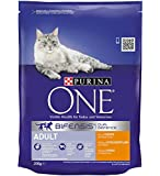 Purina One Adult Cat Chicken and Whole Grains, 200 gm