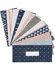 Cash Envelopes, Budget Envelopes, Reusable Budget Envelopes for Travel and Saving Money Budget Keeper, Cash Organizer Envelopes Wallet System Budget Finance Keeper