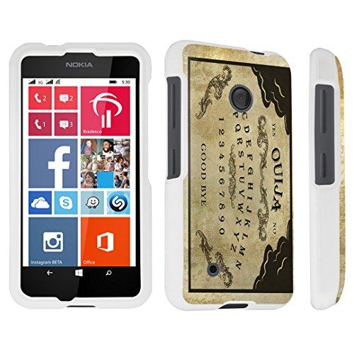 DuroCase Nokia Lumia 530 Hard Case White - (Ouija Board)