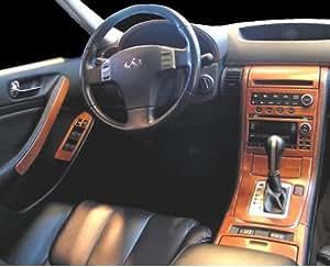 Infiniti G35 G 35 G 35 Interior Burl Wood Dash Trim Kit Set 2005 2006 Automotive