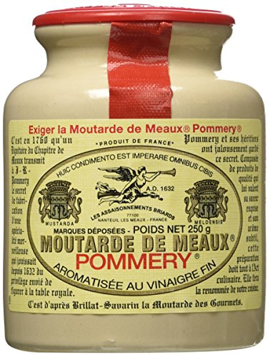 Price comparison product image Pommery Meaux Mustard Stone Jar,  8.8-Ounce