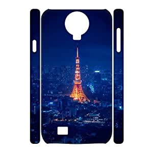 SamSung Galaxy S4 I9500 Tokyo Tower 3D Art Print Design Phone Back Case Hard Shell Protection LK032952