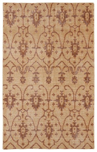 - Restoration Collection Hand-Knotted Paprika Rug (8' x 10')