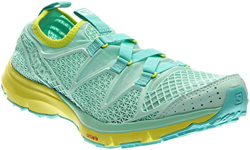 Salomon Womens Crossamphibian W Outdoor Watershoe Igloo Blue / Gecko Green / Igloo Blue