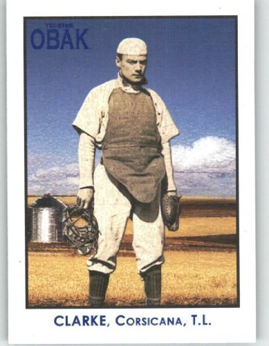 2010 TRISTAR Obak Minor League Best Baseball Card # 35 Jay Clarke - 16 RBI - 8 HR Game for Corsican Oil Citys - Sports Trading Card