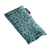 Hugger Mugger Silk Yoga Eyebag (Beads) - Boho Teal