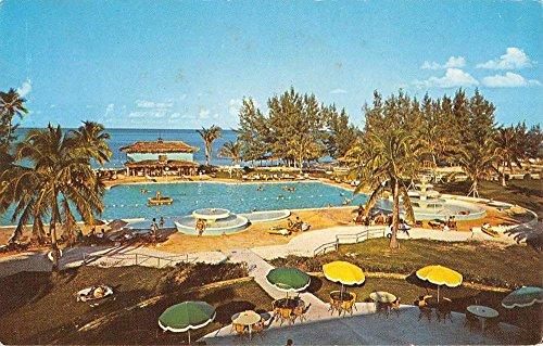 Miami Florida Grand Bahama Hotel Country Club Vintage Postcard K64485