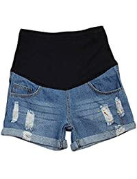 Thin Shorts Plus Size Summer New Jeans Pregnant Women...