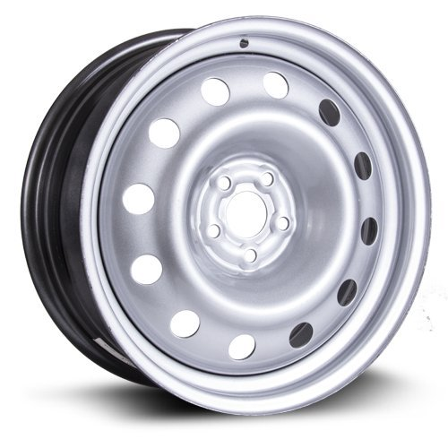 RTX, Steel Rim, New Aftermarket Wheel, 17X7, 5X100, 56.1, 44, silver finish X47556