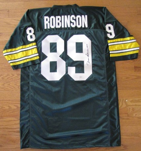 Dave Robinson Autographed Jersey - Green Bay Packers Super Bowl I & II Champion