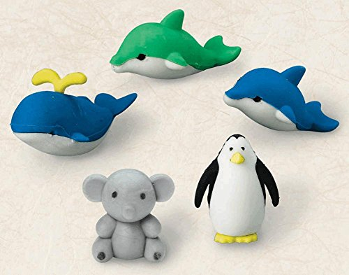 UPC 048419931812, Eraser 3d Animal (Pack of 6)