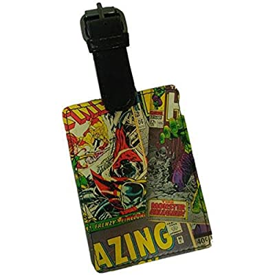 Marvel Comics - Comic Strip Luggage Tag - more-bags