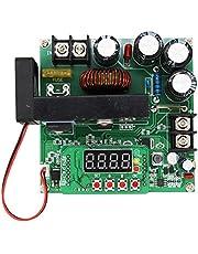 Mogzank Voltage Boost Converter, 8-60V to 10-120V 15A Numerical Control Step Up Voltage Current Adjustable Regulator