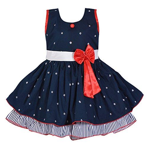 05b42216b Wish Karo Baby Girls Frock Dress - Cotton - (ctn054nb)  Amazon.in ...