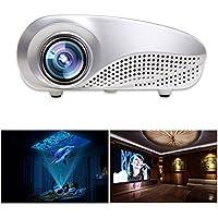 DEESEE(TM) Mini Home Multimedia Cinema LED Projector HD 1080P Support AV TV VGA USB HDMI SD