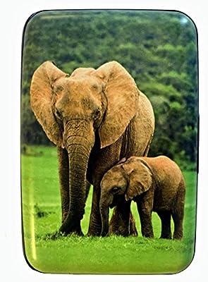 Amazon.com: Grupo higo diseño elefantes Robo de seguro RFID ...