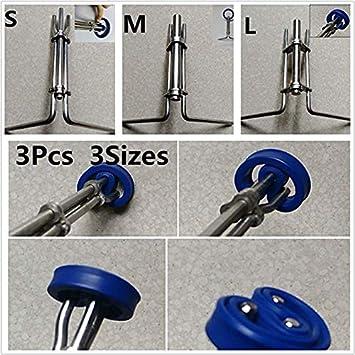 Romsion Accessories Hydraulikzylinder Montagewerkzeug Kolbenstangendichtung U-Cup