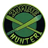 "Hot Leathers Zombie Hunter Hook and Loop Patch (Multicolor, 4"" Width x 4"" Height)"