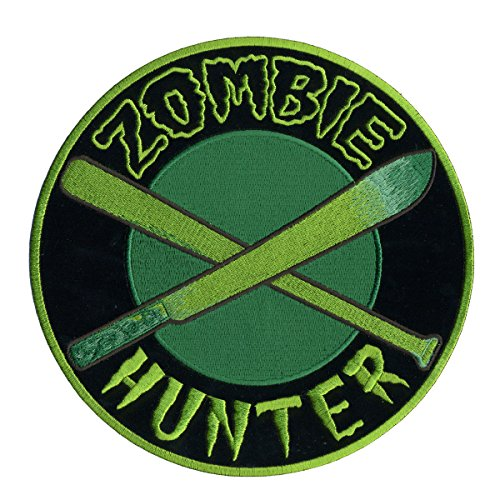 Hot Zombies (Hot Leathers Zombie Hunter Hook and Loop Patch (Multicolor, 4