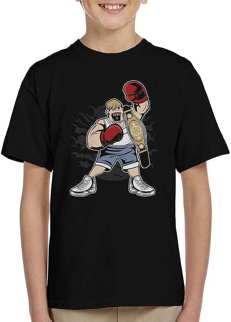 Coto7 Fat Boxer Kids T-Shirt