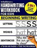 Handwriting Workbook for Kids: 3-in-1 Writing
