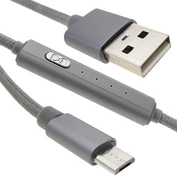 BeMatik - Cable Cargador USB con Temporizador A-Macho a ...