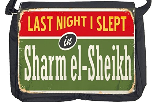 Borsa Tracolla Retro Arte Metropole Sharm ash-Sheikh Stampato