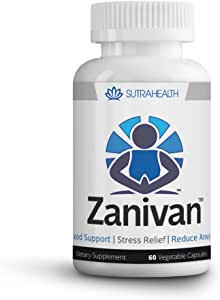 Amazon.com: Zanivan Anxiety Pills for Relief and Natural ...