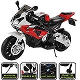 Moto électrique pour enfant 12V (licence BMW) 4 couleur disponible (rouge)