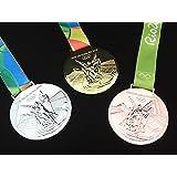 リオデジャネイロオリンピック 金メダル・銀メダル・銅メダル レプリカフルセット 五輪