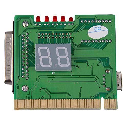 NicewaveComputer Motherboard PCI Test Machine and 2-Digit Computer Motherboard Test Machine Diagnostic Card Post Diagnosis External Display by Nicewave (Image #2)