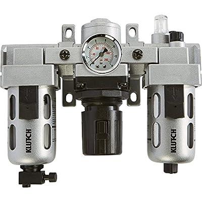 Klutch Air Filter-Regulator-Lubricator Combo - 3/8in., 71 CFM