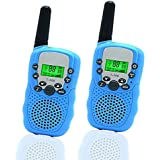 Happy Gift Best Gifts for Kid, Walkie Talkies for Kid,Cool Toys for 4-5 Year Old Boys,1 Parir(Blue)