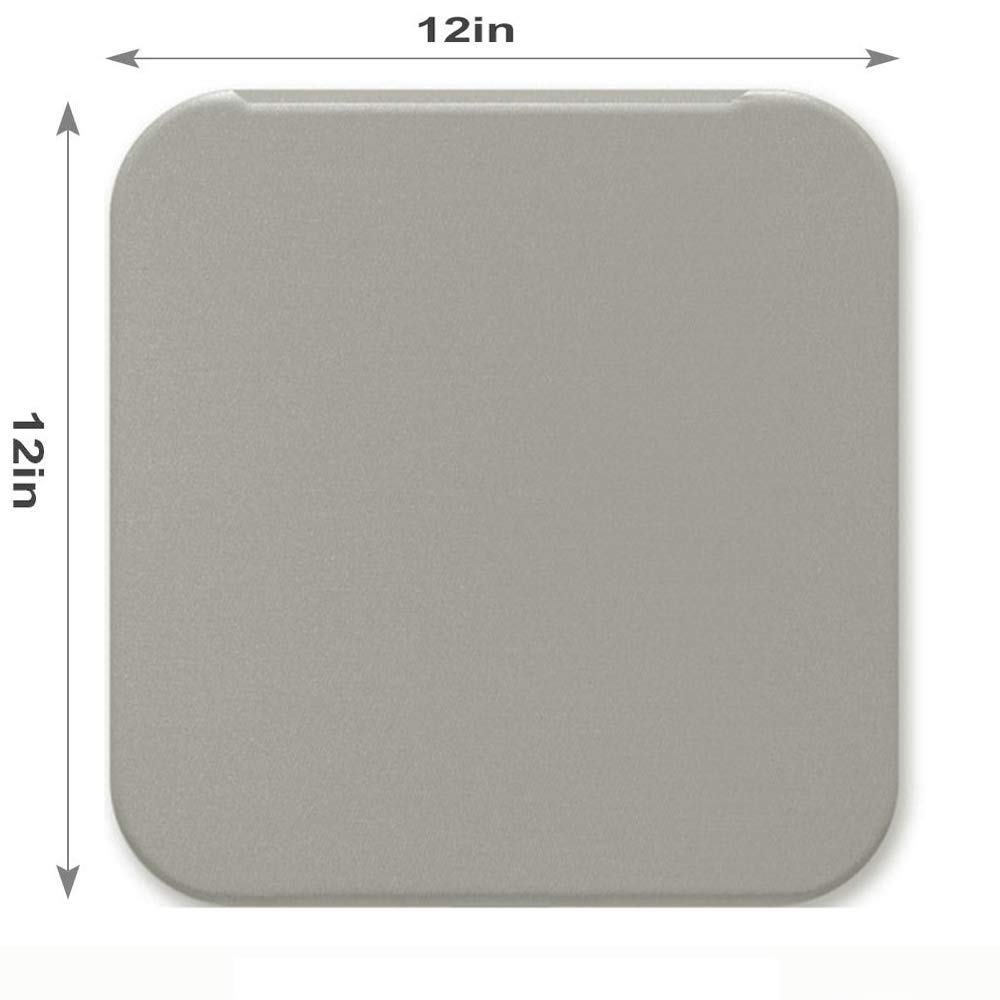 LinkedGo 12x12 inch Both Sides Heat Press Mat for Cricut Easypress Craft Vinyl Ironing Insulation Transfer Heating Mats for Easypress 2