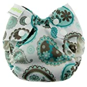 Blueberry Simplex All in One Diapers, Paisley, Newborn (Discontinued by Manufacturer)