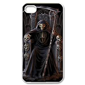 C-EUR Customized Print Grim Reaper Pattern Back Case for iPhone 4/4S