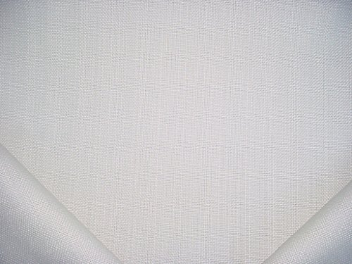 368RT15 - Natural White 100% Solution Dyed Acrylic Outdoor / Indoor Marine Strie / Pinstripe Designer Upholstery Drapery Fabric - By the -