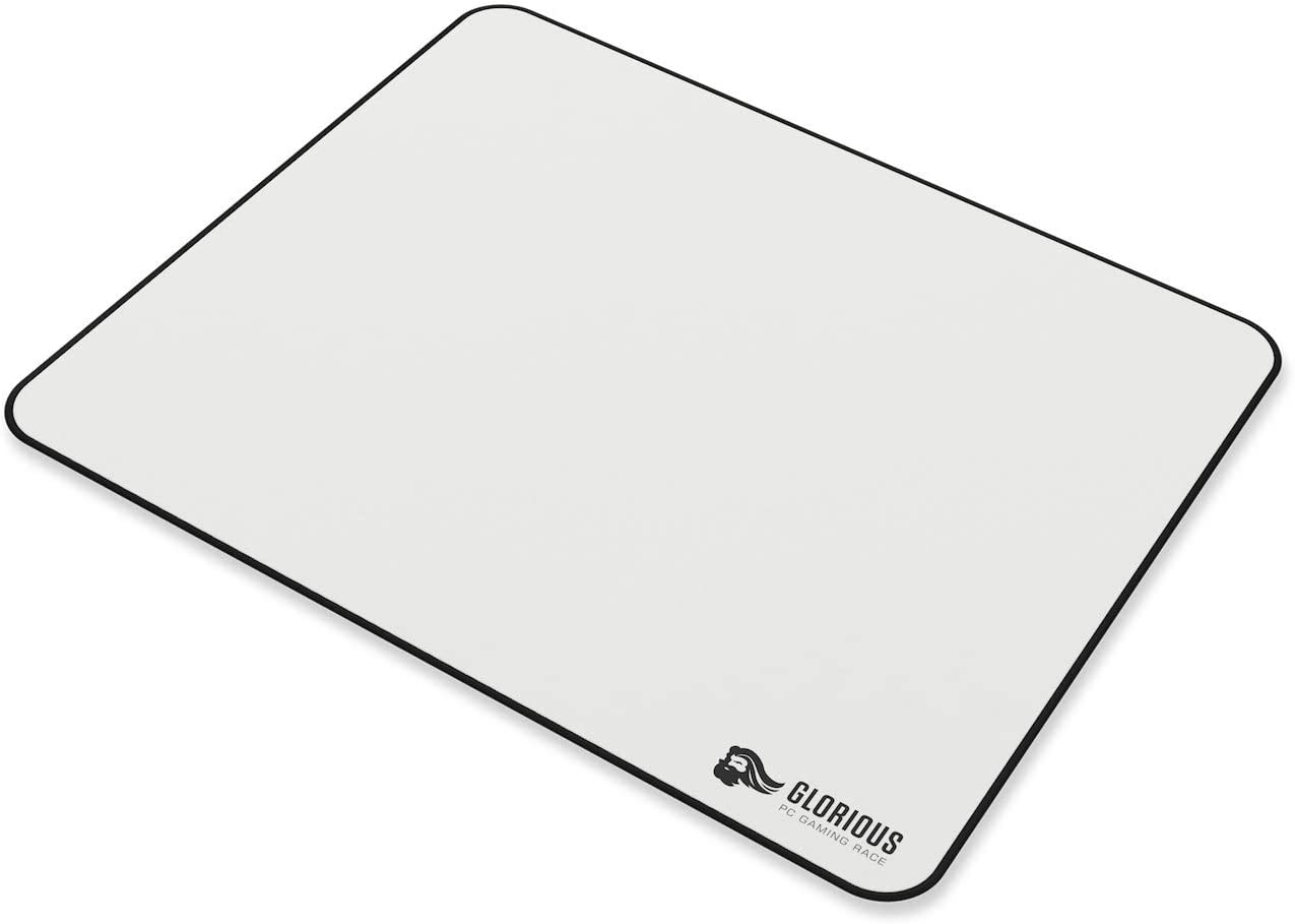 G-E-Stealth 36x11 Stitched Edges Stealth Edition Glorious Large Extended Gaming Mouse Pad//Mat Long Black Cloth Mousepad