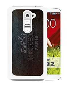 Beautiful And Unique Designed Case For LG G2 With Hermes 5 White Phone Case