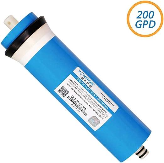 200GPD RO Ósmosis Inversa Membrana, Cartuchos de Repuesto para Purificador de Agua de Ósmosis Inversa Casa: Amazon.es: Hogar