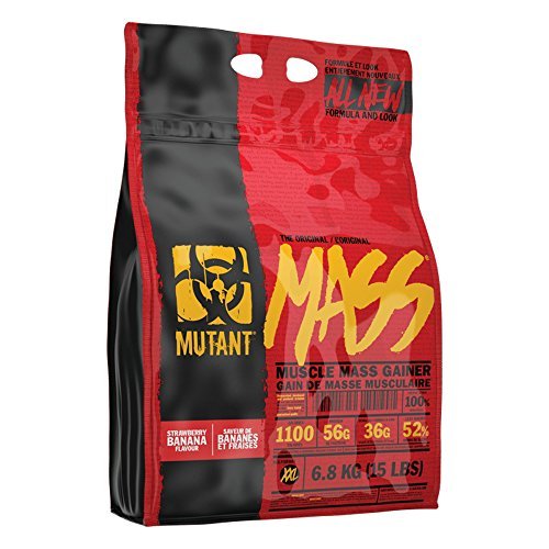 Hard Fast Banana (PVL Mutant Mass, 15 lb, Strawberry Banana)