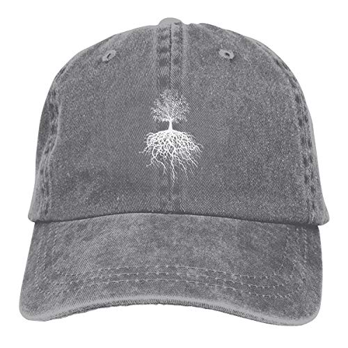 GaaAQ Tree of Life Bottoming Unisex Adult Adjustable Denim Cowboy Hat Casquette ()