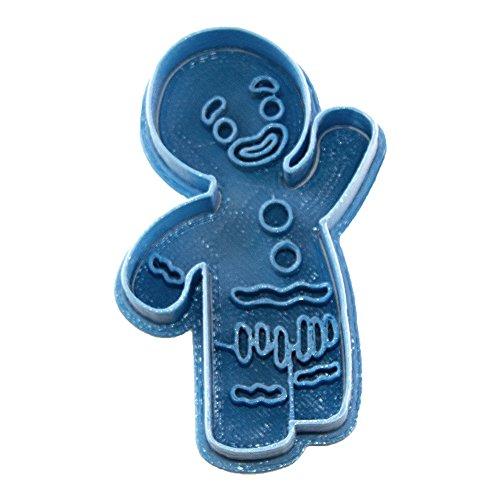 Cuticuter Shrek Gingerbread Man Cookie Cutter, blue