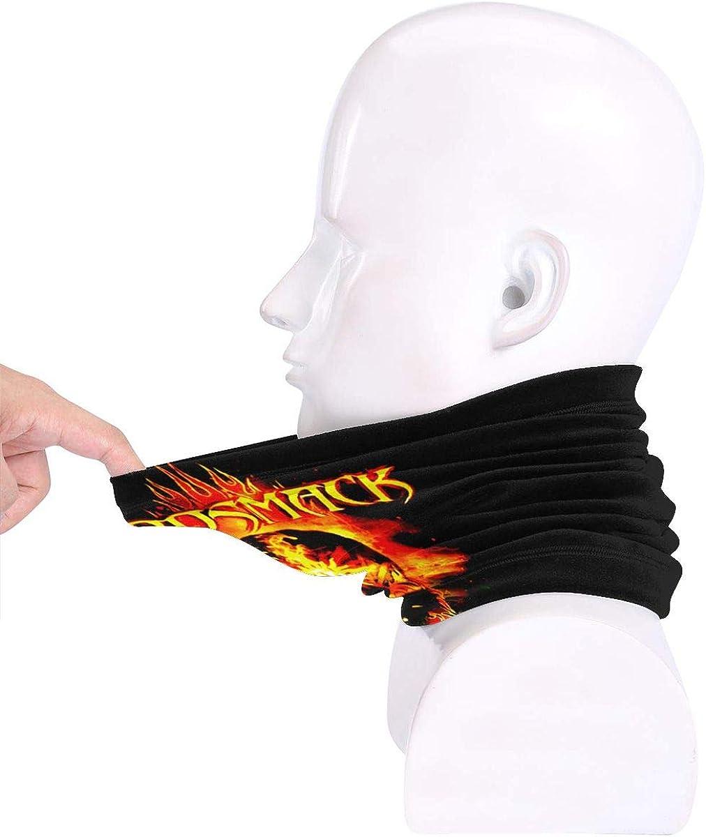 Godsmack Highly Elastic Warm Microfiber Neck Thermal Mask Scarf Unisex Windproof Suitable For Winter