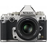 Nikon DSLR camera Df 50mm f / 1.8G Special Edition kit Silver DFLKSL [International Version, No Warranty]