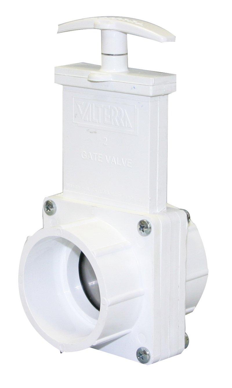 Valterra 4201 PVC Gate Valve, White, 2'' Slip by Valterra (Image #1)