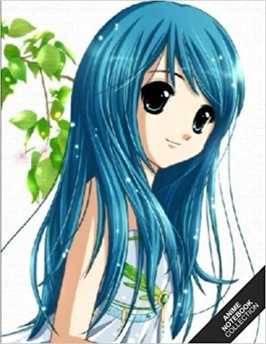 Book Anime Notebook Collection: Anime Girl 5 (Manga Notebook, Journal, Diary) (Notebook Gifts) Collect Them All: Volume 5