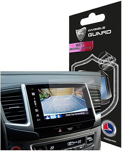 For Honda Pilot 2016 -2017 8'' Display Touch Screen Radios Screen Protector Invisible Ultra HD Clear Film Anti Scratch Skin Guard - Smooth / Self-Healing / Bubble -Free By IPG by IPG