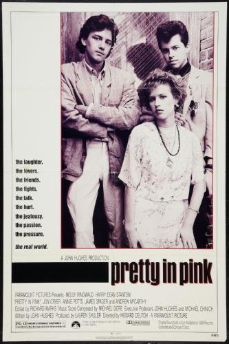 Pretty In Pink Movie Poster #01 11x17 Master Print