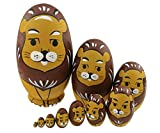 Best Winterworm Dolls - Winterworm Cute Animal Theme Yellow and Brown Lion Review